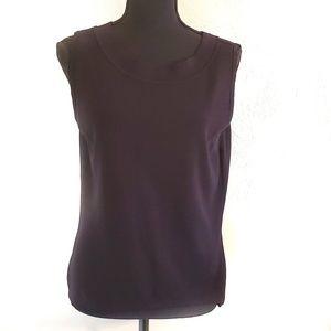 Dress barn size large sleeveless top